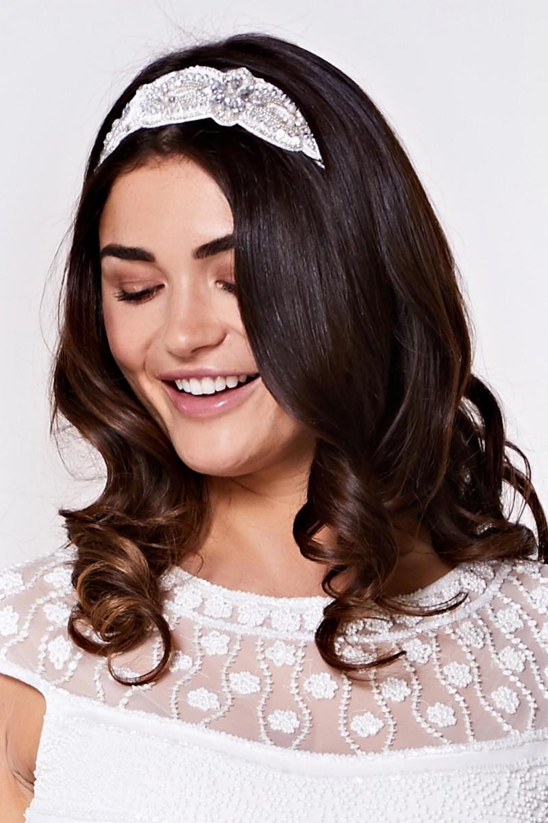 Claire - El İşlemeli Saç Bandı