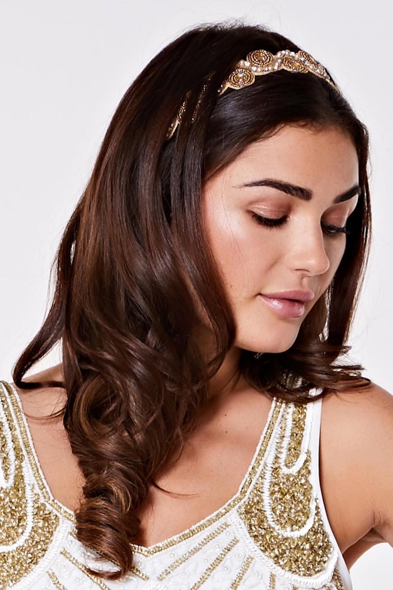 Eliza - El İşlemeli Saç Bandı