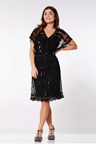 Angel Sleeve - El İşlemeli Elbise