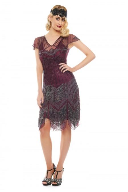 Beatrice - El İşlemeli, Taş Püsküllü Elbise