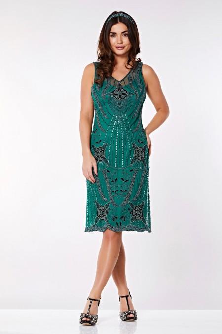 Diana - El İşlemeli Elbise