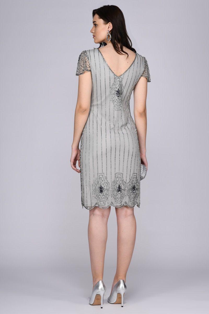Downton Abbey - El İşlemeli Elbise