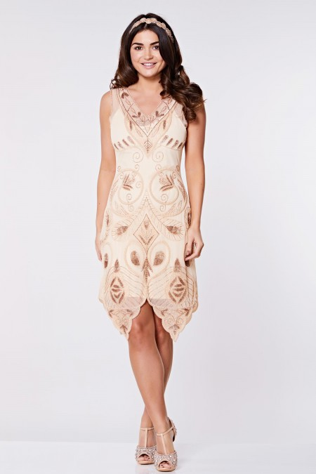 Emma - Tamamı El İşlemeli Elbise