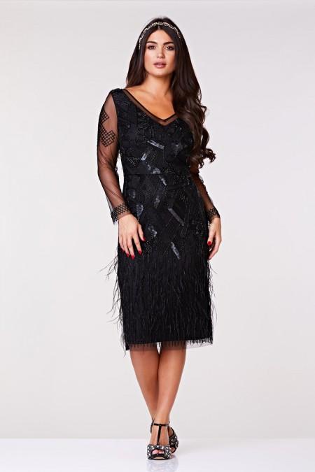 Ivy - Tamamı El İşlemeli Elbise