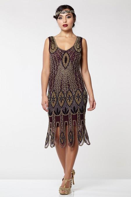 Molly - El İşlemeli Elbise