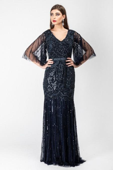 Bettina - El İşlemeli Elbise