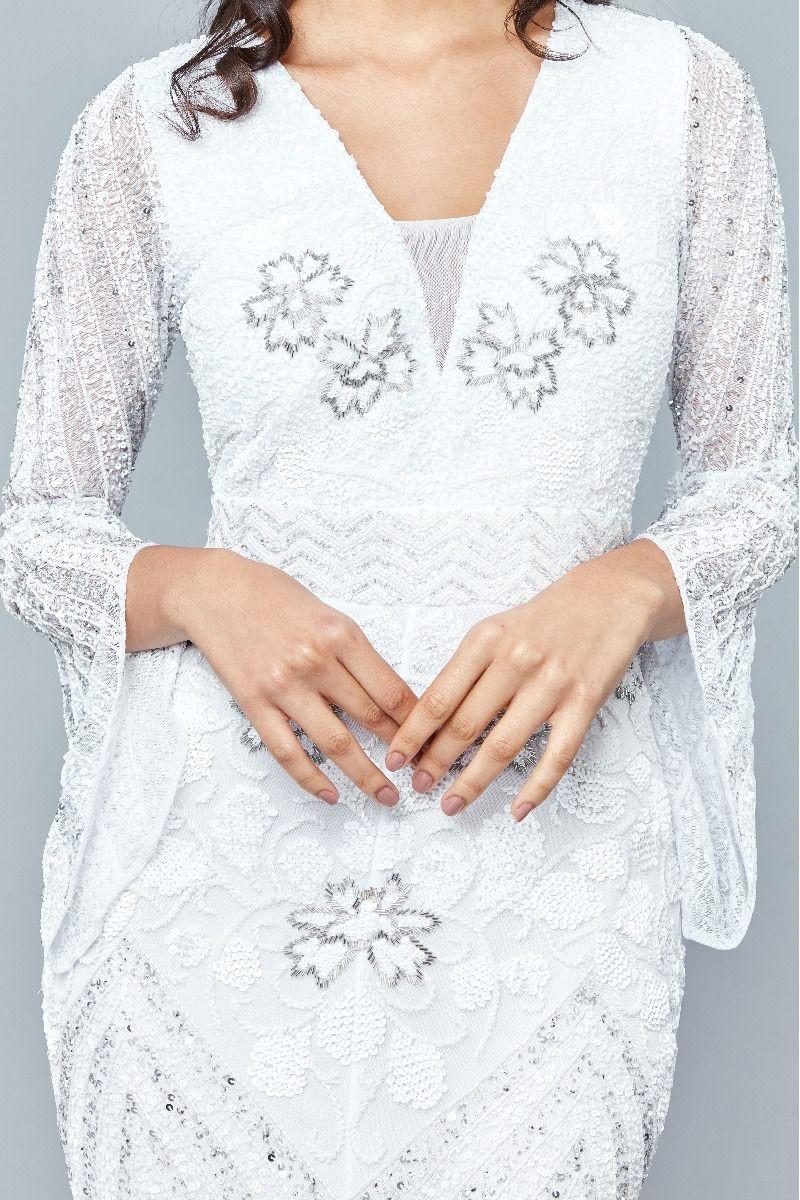 Camilla - El İşlemeli Elbise