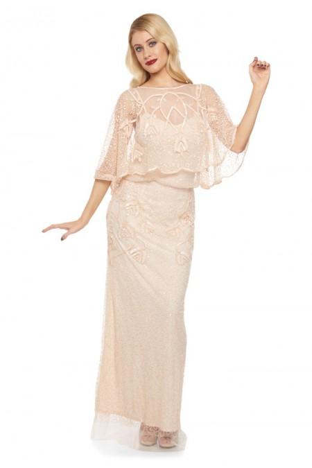 Chicago - El İşlemeli Elbise