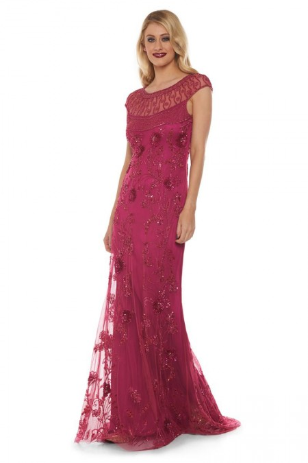 Elizabeth - El İşlemeli Elbise