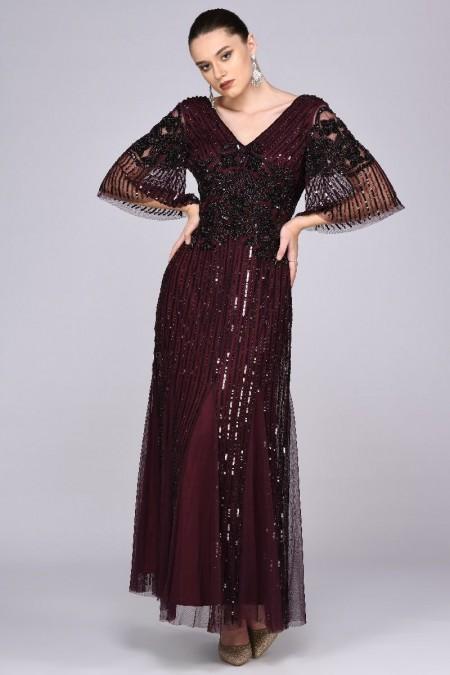 Norma - El İşlemeli Elbise